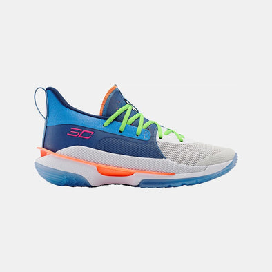 Under Armour Basketball Footwear Ua Curry 7 3021258-404-Blue