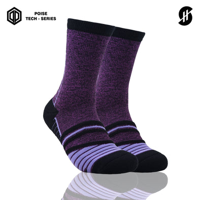 STAYHOOPS BASIC COLOR POISE TECH SERIES VIOLIN SOCKS