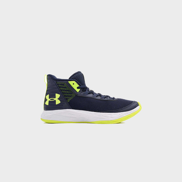 Basketball Footwear Ua Bgs Jet 2018 Syn 3021164-401-Navy