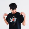 AZA Manga Strike Swish T-Shirt - Black