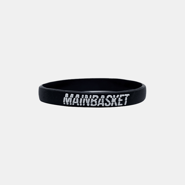 WRISTBAND STRIPE-DEFENSE - BLACK