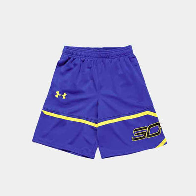 Sc30 Spear Short Short-Blue/Yellow
