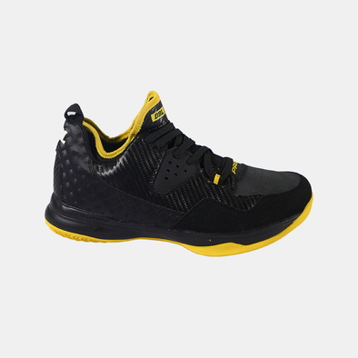 PRIDE II Footwear - Black / Yellow