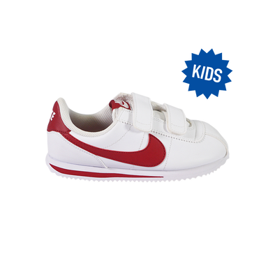 Cortez Basic SL (TDV) - White / Red