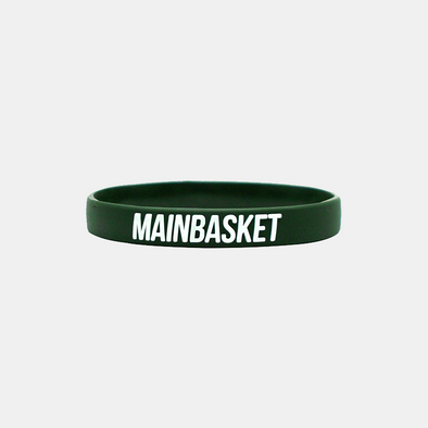 Wristband Basket Indonesia Selamanya - Army / White