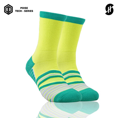 STAYHOOPS BASIC COLOR POISE TECH SERIES VERDA SOCKS