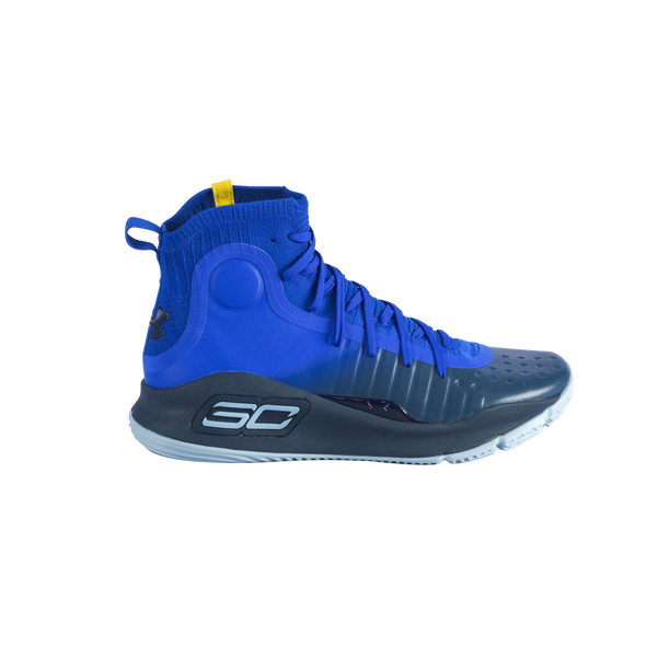 UA Curry 4 1298306-401 - Blue