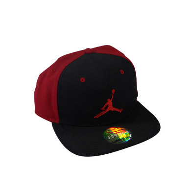 Jordan Jumpman 619360-010 Cap - Black / Red