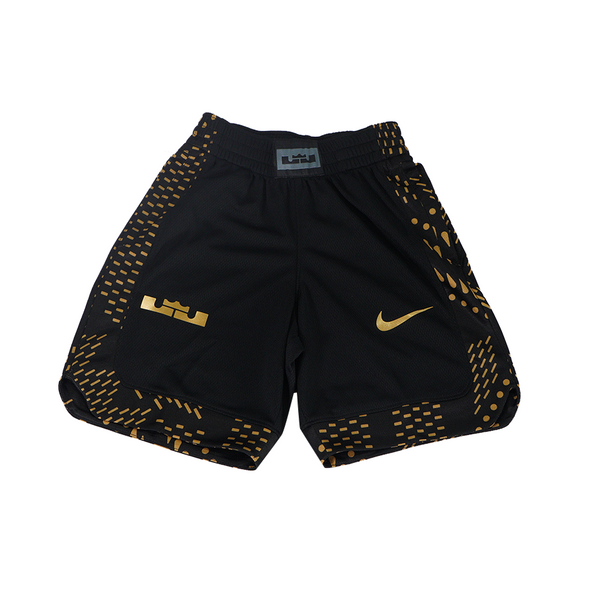 Lebron B NK Short GFX Short - Black / Gold