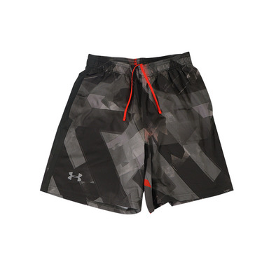 UA Launch SW 7'' Print Short - Black / Grey