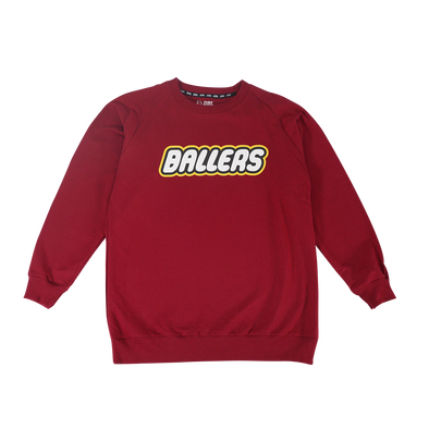 Ballers Sweater - Maroon