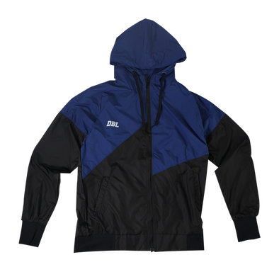 DBL The Lightning Windbreaker Jacket - Blue / Black