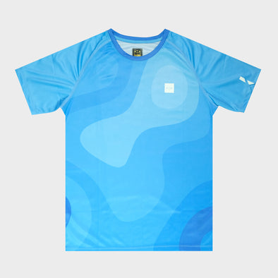 AZA PACER FLUID T-SHIRT - BLUE