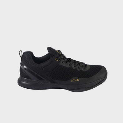 AZA 6 Footwear - Black / Gold