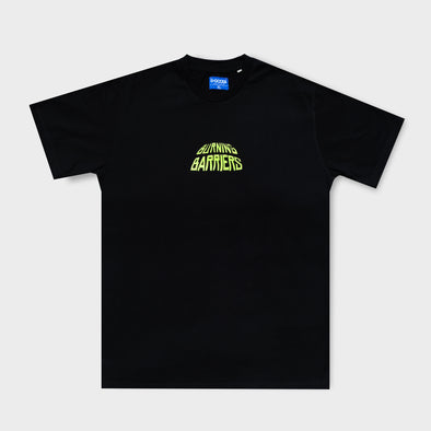 DGOODS Burning Barriers T-Shirt - Black