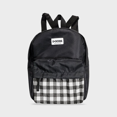 DGOODS Boxy Mini Backpack Bag - Black