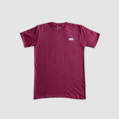 DBL Basic Threetone Short Sleeve T-Shirt - Red