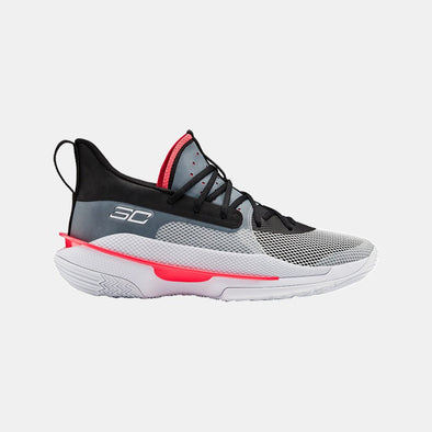 Under Armour Basketball Footwear Ua Curry 7 3021258-100-Grey
