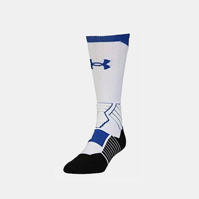 Under Armour Drive Bball Curry Crew Socks - White