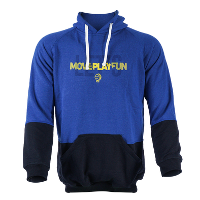 Hoodie Kids Let's Move Play Fun - Blue