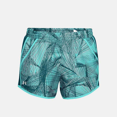 Fly By Printed Short 1297126-425 Short-Green