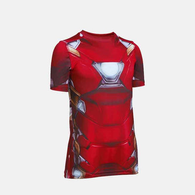 Iron Man 1285614-625 Kids Compression-Red