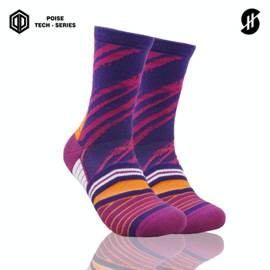 STAYHOOPS GREAU POISE TECH SERIES VIOLET SOCKS