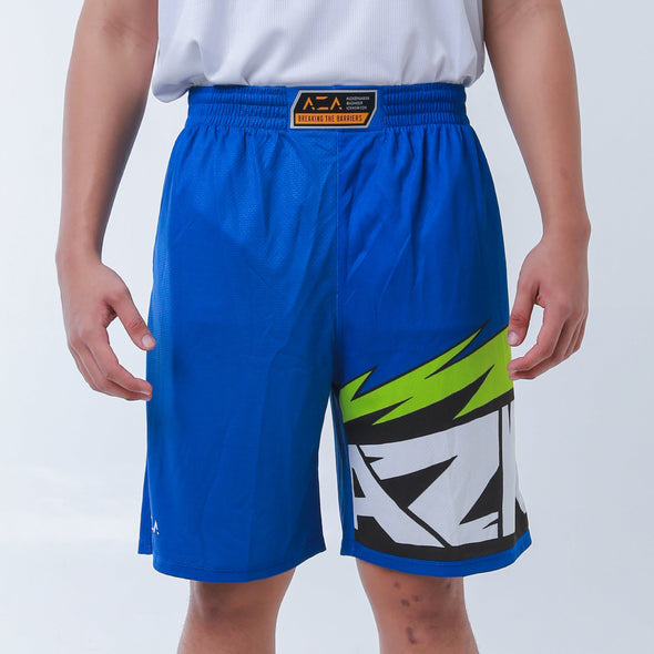 Celana Basket AZA Manga Strike - Blue/Green