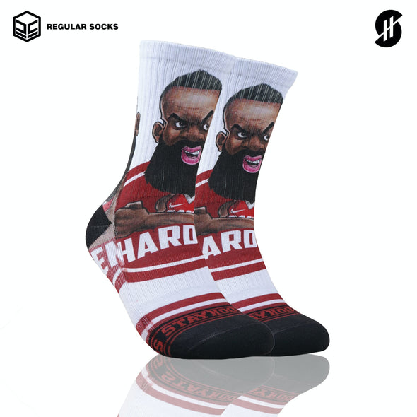 STAYHOOPS RED SQUAD SOCKS