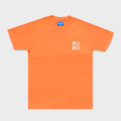 DGOODS Basketball Court T-Shirt - Orange