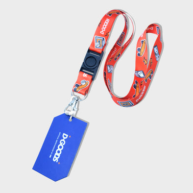 DGOODS Lanyard - Orange