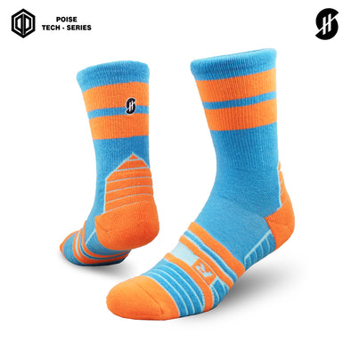 STAYHOOPS NOKRIT OLD SCHOOL POISE TECH SERIES SOCKS