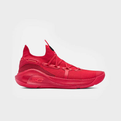 UA Curry 6 3020612-607 - Red