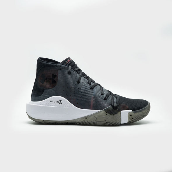 UA Spawn Mid 3021262-006 -Black