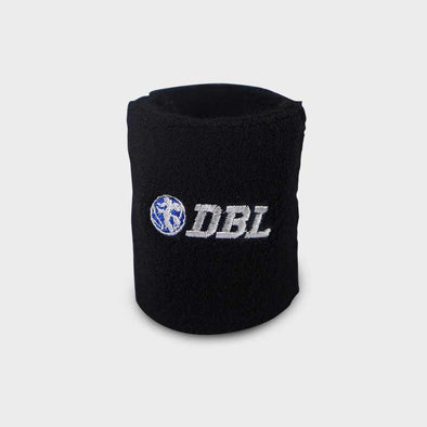 DBL Logo Horizontal Wristband - Black