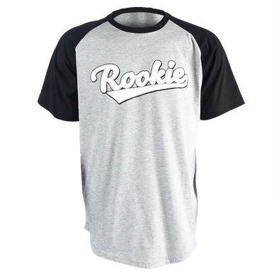 Rookie Raglan Kids T-Shirt - Grey