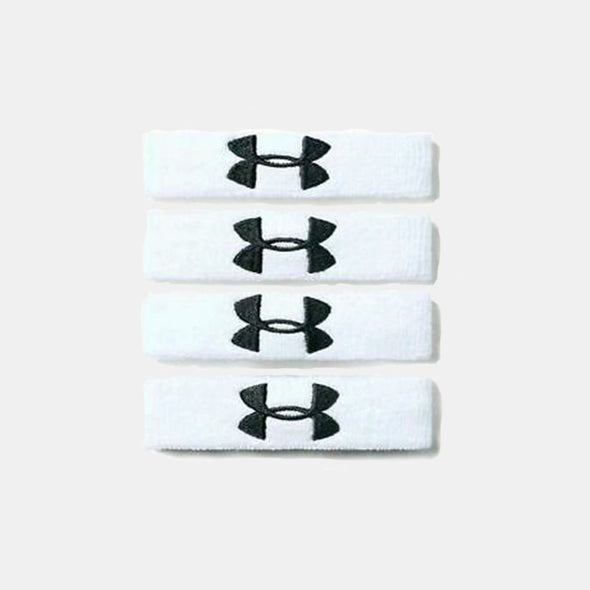 Under Armour Performance Wristband - White/Black