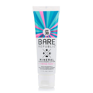 Bare Republic // Mineral Tinted Face Sunscreen Lotion SPF 30-Sunscreen-Bare Republic-Viso Sun Shop