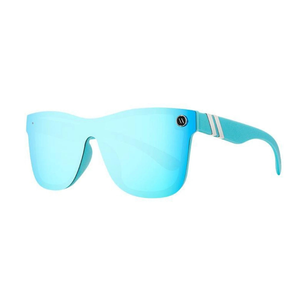 Blenders // Blue Phoenix-Sunglasses-Blenders-Framesless Sky Blue/Blue Superflash Polar-Viso Sun Shop