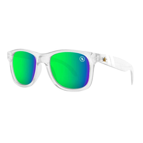 Blenders // Natty Ice Lime-Sunglasses-Blenders-Clear/Green Mirror Lenses-Viso Sun Shop