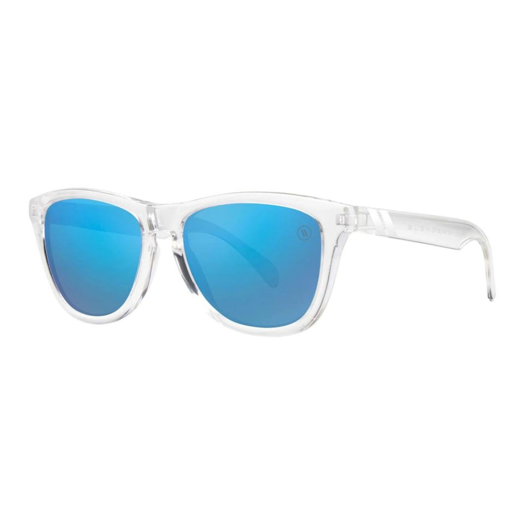 Blenders // Natty McNasty-Sunglasses-Blenders-Clear /Sky Blue Lenses-Viso Sun Shop