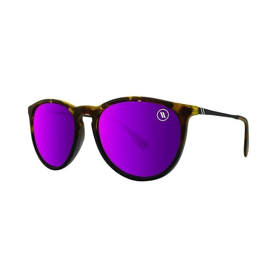 Blenders // Sahara Dust-Sunglasses-Blenders-Tortise Shell/Polar Purple Mirror Lenses-Viso Sun Shop