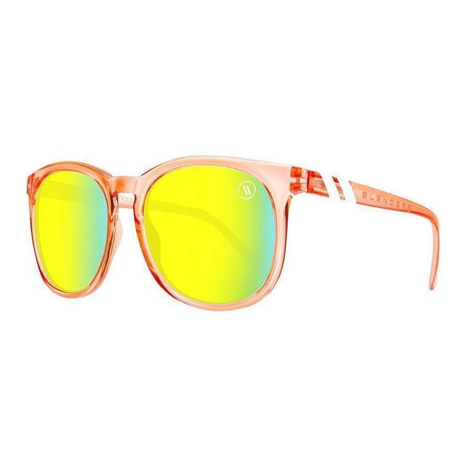 Blenders // Secret Paradise-Sunglasses-Blenders-Citrus Clear Salmon/Gold Lenses-Viso Sun Shop