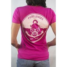 Load image into Gallery viewer, Fuse // Anchors Away T-Shirt - Bella Pink-Apparel-Fuse Lenses-Viso Sun Shop