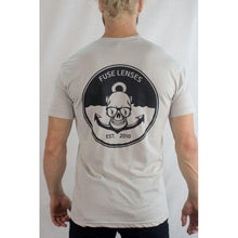 Load image into Gallery viewer, Fuse // Anchors Away T-Shirt - White-t-shirt-Fuse Lenses-Viso Sun Shop