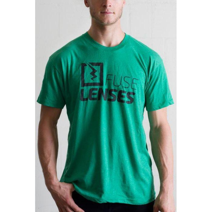 Fuse // Bolt T-Shirt - Vintage Green-Apparel-Fuse Lenses-Viso Sun Shop