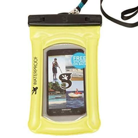 Geckobrands // Waterproof Float Phone Dry Bag-Accessories-Gecko Brands-Lime-Viso Sun Shop