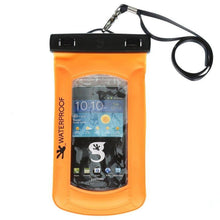 Load image into Gallery viewer, Geckobrands // Waterproof Float Phone Dry Bag-Accessories-Gecko Brands-Orange-Viso Sun Shop