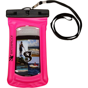 Geckobrands // Waterproof Float Phone Dry Bag-Accessories-Gecko Brands-Pink-Viso Sun Shop
