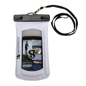 Geckobrands // Waterproof Float Phone Dry Bag-Accessories-Gecko Brands-White-Viso Sun Shop